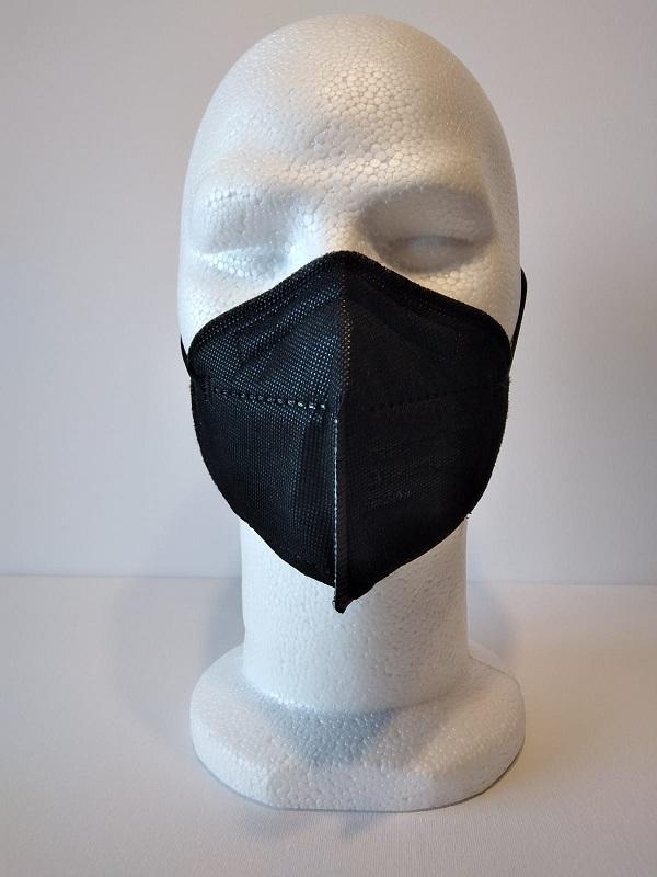 10 masques ffp2 noir