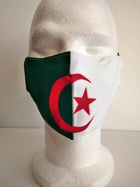 Masque Tendance Drapeau Algerie