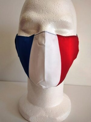 Masque Tendance Drapeau France